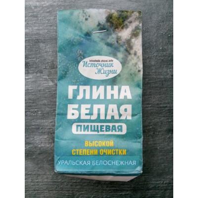 Природный сорбент -  Белая пищевая глина (100 гр)