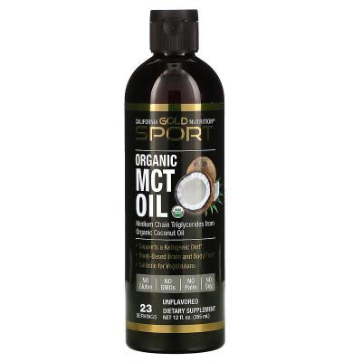 Органическое масло МСТ 355 мл