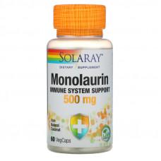 Монолаурин, 500 мг, 60 вегетарианских капсул