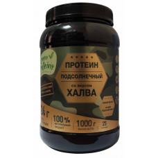 """Растительный протеин из подсолнуха со вкусом """"Халва"""" 1000 гр"""