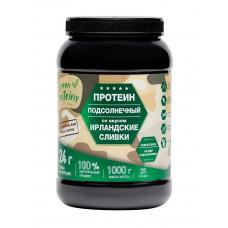 """Растительный протеин из подсолнуха со вкусом """"Ирландские сливки"""" 1000 гр"""