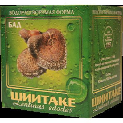Гриб Шиитаке водорастворимая форма 30 пакетиков по 1 гр.