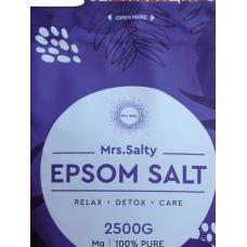 Соль Эпсома Mrs.Salty (английская соль)  2.5 кг
